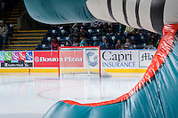 KELOWNA, CANADA - NOVEMBER 30: The Kelowna Rockets take on the Kamloops Blazers on November 30, 2013 at Prospera Place in Kelowna, British Columbia, Canada.   (Photo by Marissa Baecker/Shoot the Breeze)  ***  Local Caption  ***