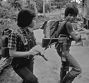 New Peoples Army (NPA) revolutionaries of the Philippines