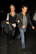 25.OCTOBER.2007. LONDON<br /> <br /> DENISE VAN OUTEN LEAVING THE DUKE OF YORK THEATRE AFTER PERFORMING IN HIT SHOW RENT REMIXED &amp; GOING INTO BUNGALO 8 CLUB. SHE THEN LEFT AFTER A COUPLE OF HOURS WITH CHRISTOPHER PARKER AND GOT INTO A CAB TOGETHER.<br /> <br /> BYLINE: EDBIMAGEARCHIVE.CO.UK<br /> <br /> *THIS IMAGE IS STRICTLY FOR UK NEWSPAPERS AND MAGAZINES ONLY*<br /> *FOR WORLD WIDE SALES AND WEB USE PLEASE CONTACT EDBIMAGEARCHIVE - 0208 954 5968*