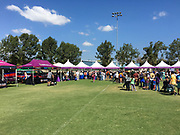 Booths At The Annual Irvine Global Village Festival