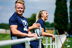 Jemma Gardner looks on during week 1 of Bristol Bears pre-season training ahead of the 19/20 Gallagher Premiership season - Rogan/JMP - 03/07/2019 - RUGBY UNION - Clifton Rugby Club - Bristol, England.