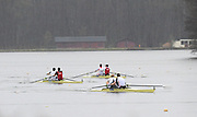Hazewinkel. BELGUIM, GBR M2- left Andy TRIGGS HODGE and Peter REED winning the A final at the 2008 GB Rowing Trials, at the Bloso Rowing Course, 09/03/2008.[Mandatory Credit, Peter Spurrier/Intersport-images] Rowing Course, Bloso, Hazewinkel. BELGUIM
