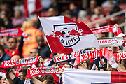 RB fans  during the Emirates Cup 2017 match between Leipzig and Benfica at the Emirates Stadium, London, England on 30 July 2017. Photo by Sebastian Frej.