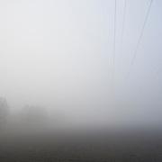Nederland Numansdorp 7 maart 2009 20090307 Foto: David Rozing ..Mist in de ochtend. Foggy weather in the morning ..Foto: David Rozing