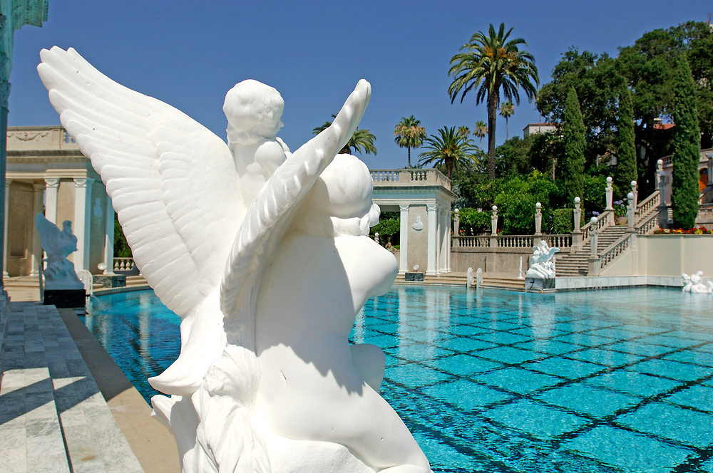 Neptune Pool at Hearst Castle State Park, San Simeon, California, United States of America