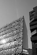 Paris 13th. new Architecture on avenue de France.