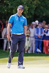 26.06.2014, Golf Club Gut Laerchenhof, Pulheim, GER, BNW International Golf Open, im Bild Martin Kaymer (US Open Sieger 2014) verdreht nach einem misslungenem Put am 9. Loch die Augen // during the International BMW Golf Open at the Golf Club Gut Laerchenhof in Pulheim, Germany on 2014/06/26. EXPA Pictures © 2014, PhotoCredit: EXPA/ Eibner-Pressefoto/ Schueler<br /> <br /> *****ATTENTION - OUT of GER*****