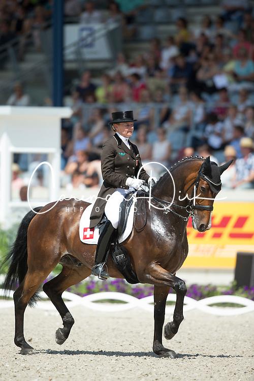 Krinke Susmelj Marcela (SUI) - Smeyers Molberg<br /> Preis der Familie Tesch <br /> Lambertz Nations Cup<br /> Weltfest des Pferdesports CHIO Aachen 2014<br /> &copy; Hippo Foto - Dirk Caremans