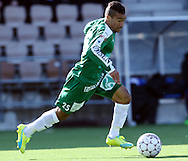 2.4.2016, Sonera Stadion, Helsinki.<br /> Veikkausliiga 2016.<br /> Helsingin Jalkapalloklubi - IFK Mariehamn.<br /> Diego Assis Figueiredo - IFK Mariehamn