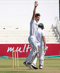 Durban. 221018.  Eathan Bosch during day 1 of the 4 Day Franchise Series match between Hollywoodbets Dolphins and Warriors at Kingsmead Cricket Ground on October 22, 2018 in Durban, South Africa. Picture Leon Lestrade. African News Agency. ( ANA ).