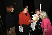 Backstage before In praise of an English radical - A Celebration of Linda Smith, Lyceum Theatre Sheffield.