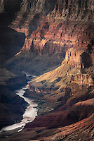 View of the Colorado River from Desert View Point, Grand Canyon National Park Arizona