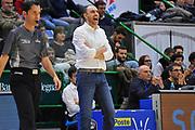 Vincenzo Esposito<br /> Banco di Sardegna Dinamo Sassari - The Flexx Pistoia<br /> LegaBasket Serie A LBA Poste Mobile 2017/2018<br /> Sassari 16/12/2017<br /> Foto Ciamillo-Castoria