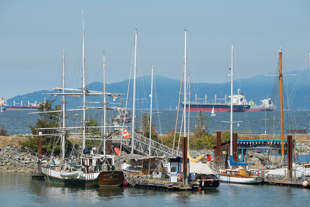 Canada, British Columbia, Vancouver ,English Bay, Kitsilano Beach, University Peninsula, Maritime museum