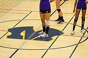 Milpitas Varsity Volleyball falls short to Monta Vista High School on Sept. 10, 2012, losing in 4 sets, 7-25, 16-25, INSERT SCORE, 17-25.  Photo by Stan Olszewski/SOSKIphoto.