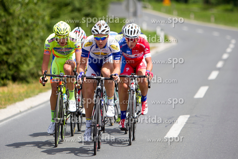 Edvard Theuns of Topsport Vlaanderen - Baloise during Stage 3 from Rogaska Slatina to Trije Kralji (192 km) of cycling race 21st Tour of Slovenia, on June 21, 2014 in Slovenia. Photo By Urban Urbanc / Sportida