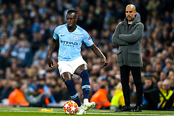 Benjamin Mendy of Manchester City - Mandatory by-line: Robbie Stephenson/JMP - 17/04/2019 - FOOTBALL - Etihad Stadium - Manchester, England - Manchester City v Tottenham Hotspur - UEFA Champions League Quarter Final 2nd Leg