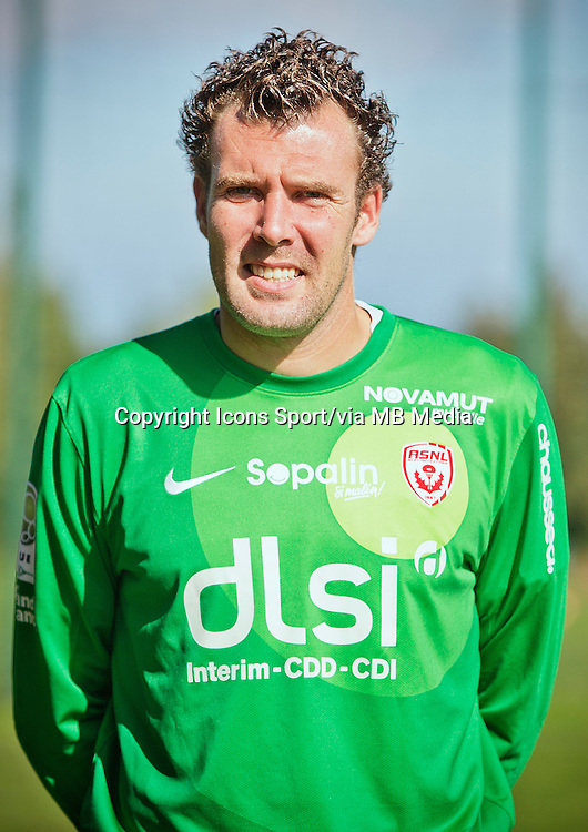 Damien GREGORINI - 03.10.2013 - Photo Officielle - Nancy -<br /> Photo : Icon Sport