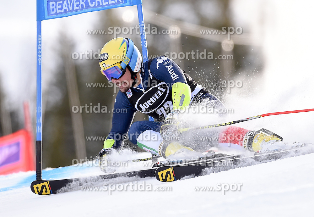 06.12.2015, Birds of Prey Course, Beaver Creek, USA, FIS Weltcup Ski Alpin, Beaver Creek, Riesenslalom, Herren, 1. Lauf, im Bild Luca De Aliprandini (ITA) // Luca De Aliprandini of Italy during the first run of mens Giant Slalom of the Beaver Creek FIS Ski Alpine World Cup at the Birds of Prey Course in Beaver Creek, United States on 2015/12/06. EXPA Pictures © 2015, PhotoCredit: EXPA/ Erich Spiess