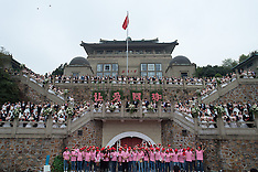 China: 123 couples get married on the same day, 15 Oct. 2016