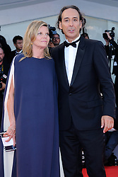 Alexandre Desplat and Dominique Lemonnier attending The Shape of Water Premiere during the 74th Venice International Film Festival (Mostra di Venezia) at the Lido, Venice, Italy on August 31, 2017. Photo by Aurore Marechal/ABACAPRESS.COM