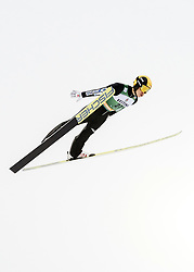 February 8, 2019 - Lahti, Finland - Hideaki Nagai competes during Nordic Combined, PCR/Qualification at Lahti Ski Games in Lahti, Finland on 8 February 2019. (Credit Image: © Antti Yrjonen/NurPhoto via ZUMA Press)