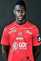 Moussa NIAKHATE - 06.10.2015 - Photo officielle Valenciennes - Ligue 2<br /> Photo : Francois Lo Presti / Icon Sport