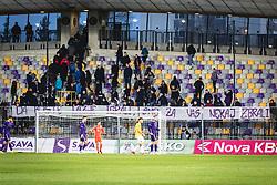 during football match between NK Maribor and NK Bravo in 25th Round of Prva liga Telekom Slovenije 2019/20, on March 7, 2020 in Ljudski vrt, Maribor, Slovenia. Photo by Blaž Weindorfer / Sportida