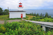 Long Eddy Point lighthouse<br /> Grand Manan Island<br /> New Brunswick<br /> Canada
