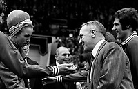 Fotball<br /> Foto: Colorsport/Digitalsport<br /> NORWAY ONLY<br /> <br /> Princess Anne meets Liverpool manager Bill Shankly before the game.  Liverpool v Newcastle United, FA Cup Final, Wembley Stadium, 4/05/1974
