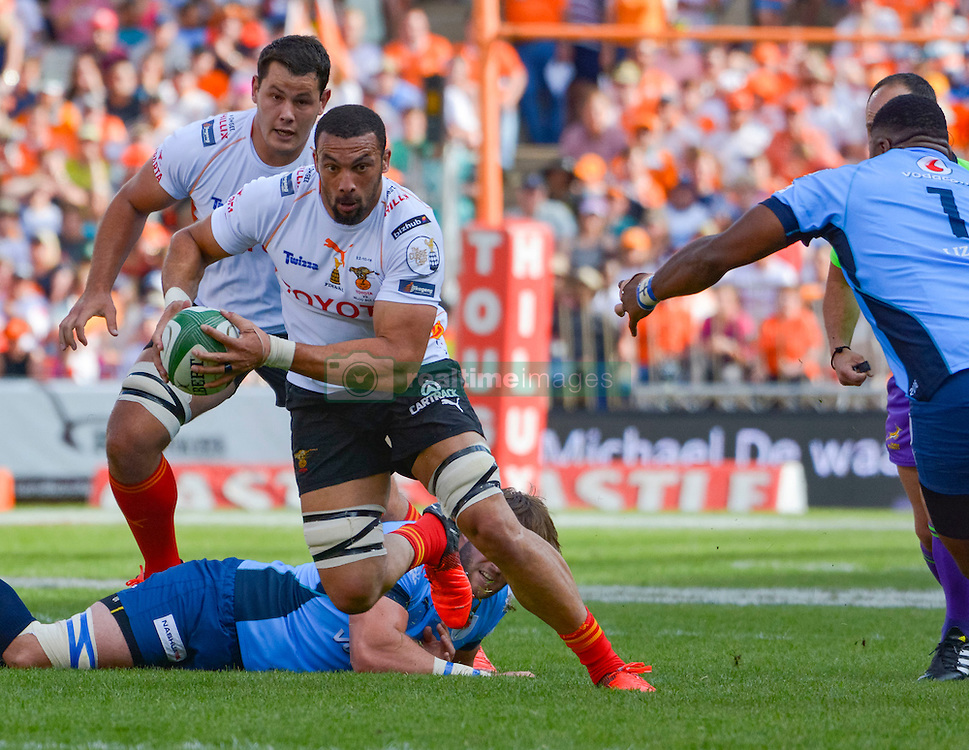 Uzair Cassiem of the Free State Cheetahs during the Currie Cup Final between the The Free State Cheetahs and Blue Bulls held at Toyota Stadium (Free State Stadium), Bloemfontein, South Africa on the 22nd October 2016<br /> <br /> Photo by:   Frikkie Kapp / Real Time Images