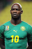 Fussball International, Italienische Nationalmannschaft  Italien - Kamerun 03.03.2010 Achille Emana (Kamerun)