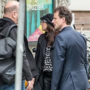 NLD/Amsterdam/20171014 - Besloten erdenkingsdienst overleden burgemeester Eberhard van der Laan, Wende Snijder
