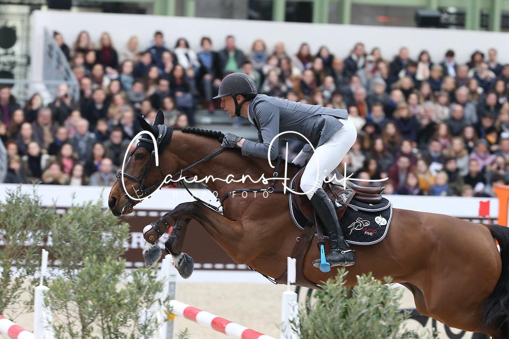 Staut Kevin, (FRA), Elky van het Indihof<br /> Grand Prix Hermes <br /> Saut Hermes Paris 2016<br /> © Hippo Foto - Counet Julien