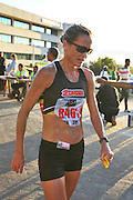 BELLVILLE, SOUTH AFRICA - Wednesday 3 December 2014, Tanith Maxwell, ladies winner of the Metropolitan 10km road race outside the Parc Du Cap head office in Bellville.<br /> Photo by IMAGE SA / Roger Sedres