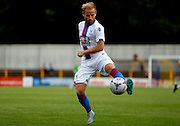 Barry Bannan controlling the ball during the Pre-Season Friendly match between St Albans FC and Crystal Palace at Clarence Park, St Albans, United Kingdom on 21 July 2015. Photo by Michael Hulf.