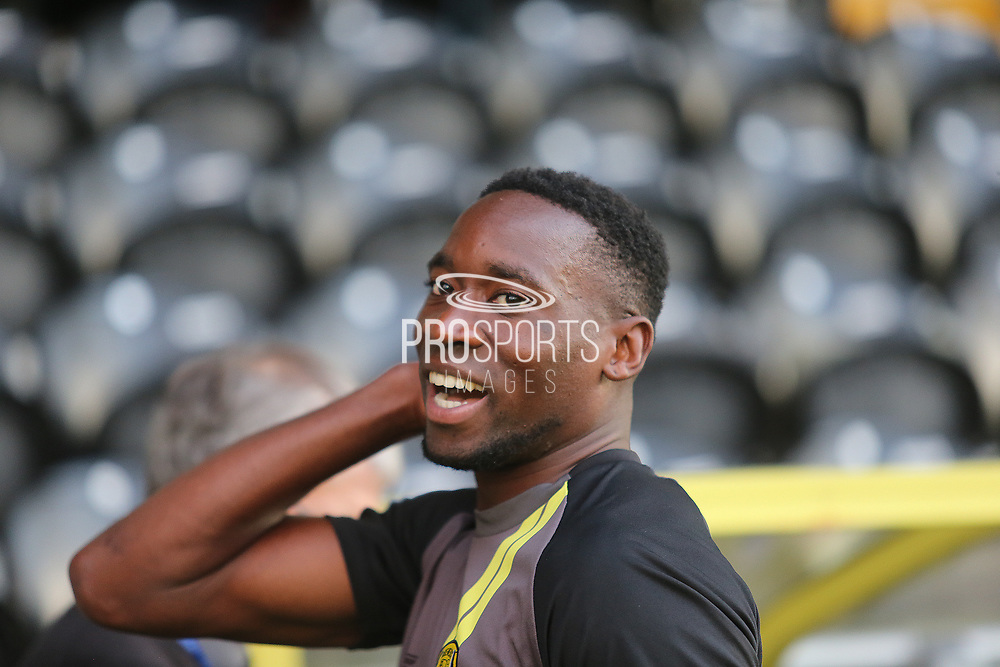 Burton Albion forward Lucas Akins (10) during the EFL Cup match between Burton Albion and Bournemouth at the Pirelli Stadium, Burton upon Trent, England on 25 September 2019.