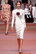 Dolce Gabbana Women's Fall 2015