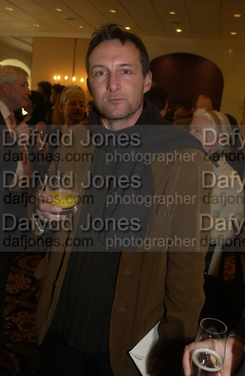 Stephen Farrell,(  Big issue seller). The South Bank Show Awards. The10th annual awards rewarding excellence in arts, The Savoy , London.January 27 2006. ONE TIME USE ONLY - DO NOT ARCHIVE  © Copyright Photograph by Dafydd Jones 66 Stockwell Park Rd. London SW9 0DA Tel 020 7733 0108 www.dafjones.com