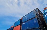 Shipping Containers under Sydney Airport flightpath