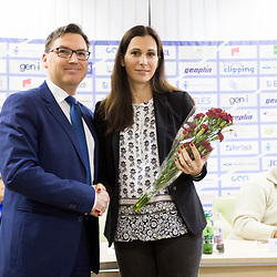 20180222: SLO, Athletics -  Press conference of Athletic association Slovenia before IAAF World Indo