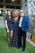 MATILDA WYMAN; SUZANNE WYMAN; BILL WYMAN, Gabrielle's Gala 2013 in aid of  Gabrielle's Angels Foundation UK , Battersea Power station. London. 2 May 2013.