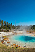 Silex Spring, Yellowstone National Park, WY, on Sept. 7, 2012.  (Photo by Aaron Schmidt © 2012)