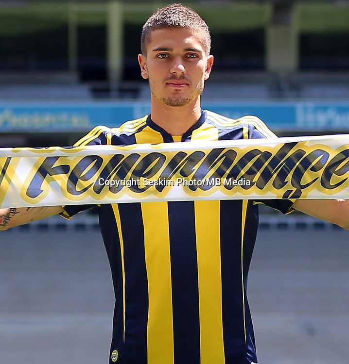 Fenerbahce's new  Player Roman Petrovich Neustadter has signed a new contract for 3 years with Fenerbahce Soccer Club on July 06, 2016