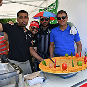 Bangladesh All-day long festival is the most peaceful people festival in London and the children is so free to have thier photo taken with and the parent is very proud of thier beautiful children and lot of fun including live music, arts, food & crafts market and plenty of other activities at Weavers Fields on 30 June 2019, London, UK.