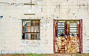 An abandoned pawn shop near Shaw Air Force Base in Sumter, South Carolina