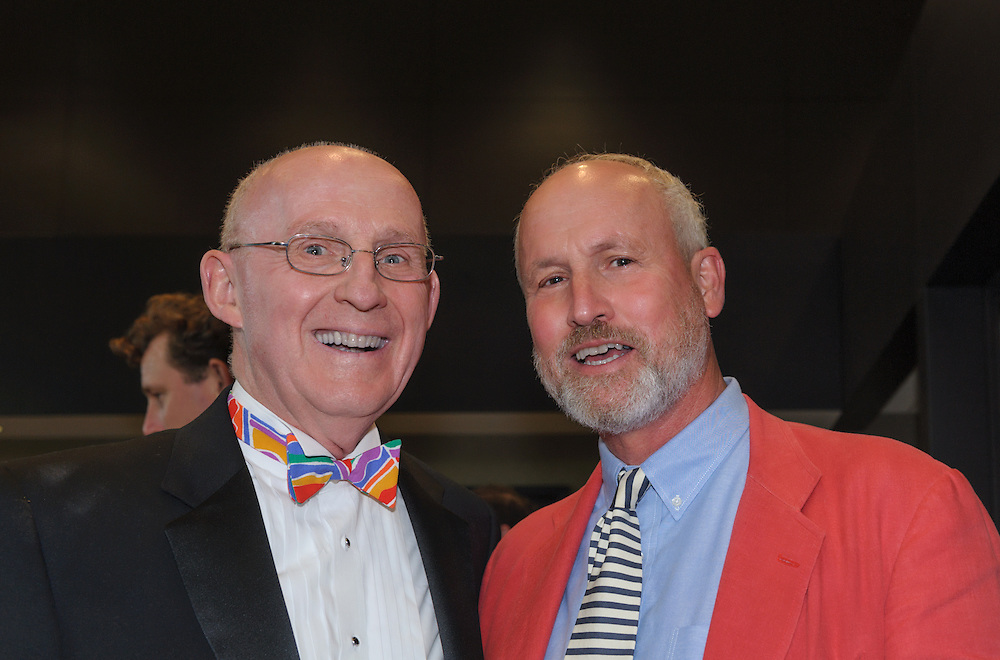 P. Daniel Hollis, III of Shamberg Marwell Hollis Andreycak & Laidlaw P.C. in Mount Kisco, recipient of the Humanitarian Award in 1995, and Skip Beitzel, owner of Hickory & Tweed in Armonk, dinner committe member and recipient of the Humanitarian Award in 2004, at the Boys & Girls Club of Northern Westchester's Humanitarian Award Dinner held at Lexus of Mt. Kisco on June 7, 2014. © 2014 Marianne A. Campolongo.