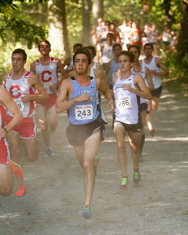 Boston College Invitational Cross Country race at Franklin Park; Trevor Crawley, Providence