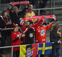 18.12.2011, Albert Schultz Halle, Wien, AUT, European Trophy, Spiel um Platz 3, Lulea Hockey vs Linkoepings HC, im Bild Fans von Lulea Hockey, EXPA Pictures © 2011, PhotoCredit: EXPA/ T. Haumer