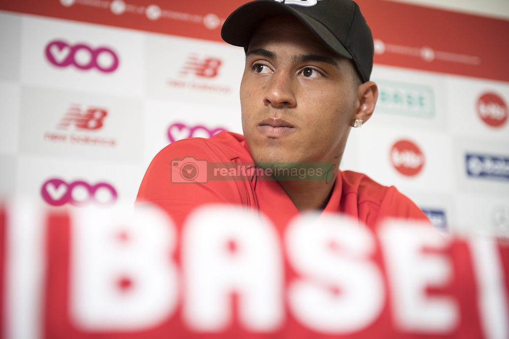 August 24, 2017 - Liege, BELGIUM - Carlinhos of R. Standard de Liege (Credit Image: © Panoramic via ZUMA Press)